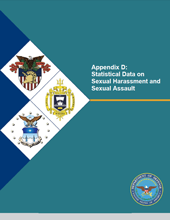 Cover of Appendix D: Statistical Data on Sexual Harassment and Assault