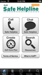 Safe Helpline Mobile App
