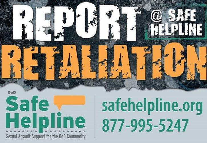 Report Retaliation - SafeHelpLine.org